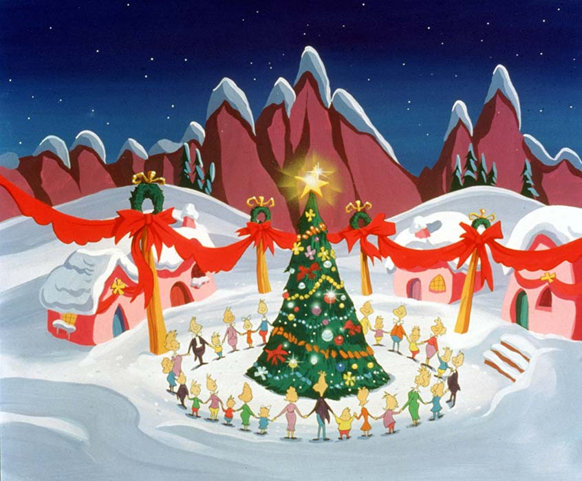 dr seuss how the grinch stole christmas tbscom - How The Grinch Stole Christmas Decorating Ideas