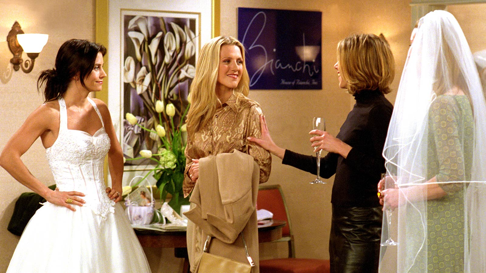 The One With The Cheap Wedding Dress Tbs