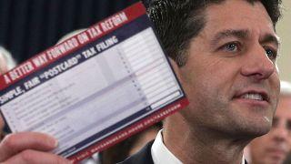 Designer Behind GOP's Tax Postcard Speaks