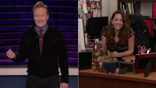 Conan's Assistant Takes on the 'Friends' Challenge
