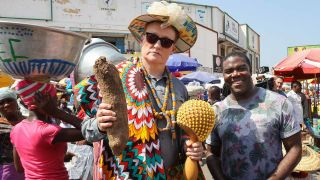 Next stop for Conan Without Borders: Ghana